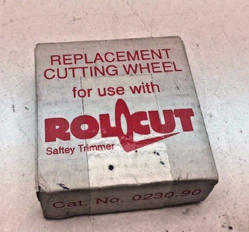 Rollcut replacement new rotary cutter guillotine trimmer blade.